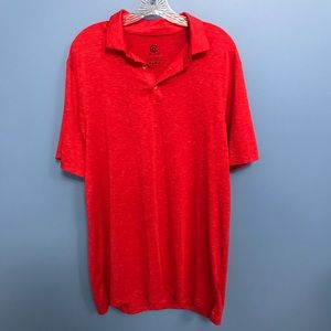 Champion Heathered Red Polo Shirt